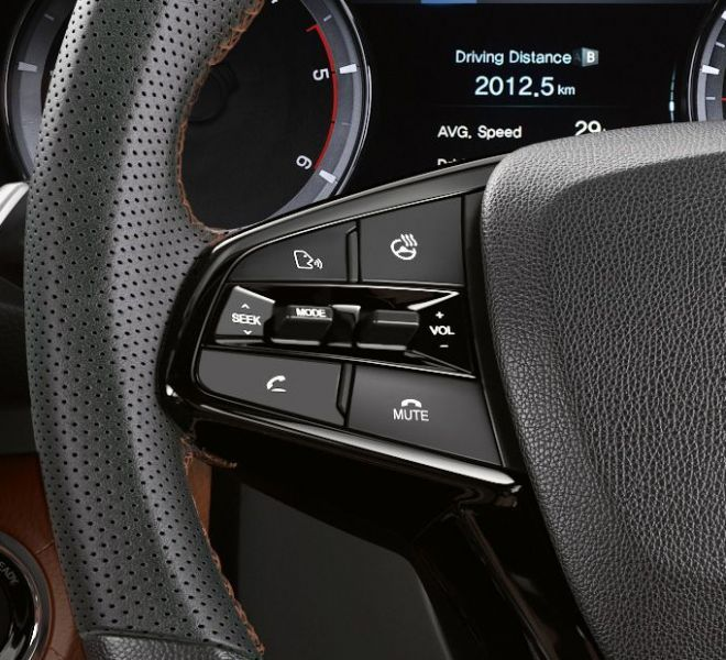 Automotive Mahindra Alturas G4 Interior-6