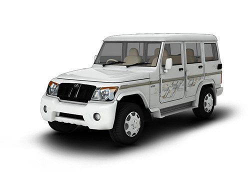 Automotive Mahindra Bolero Diamond White