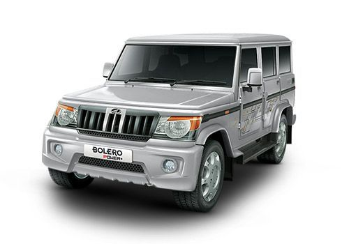 Automotive Mahindra Bolero Power Plus Silver