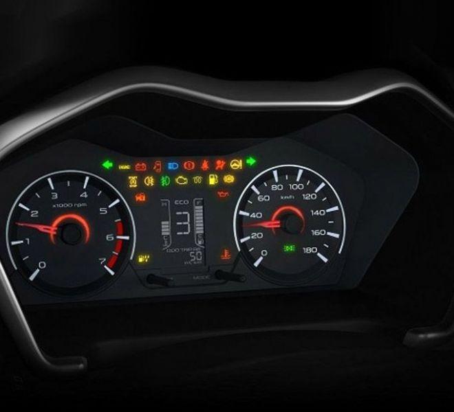 Automotive Mahindra KUV 100 NXT Interior-7