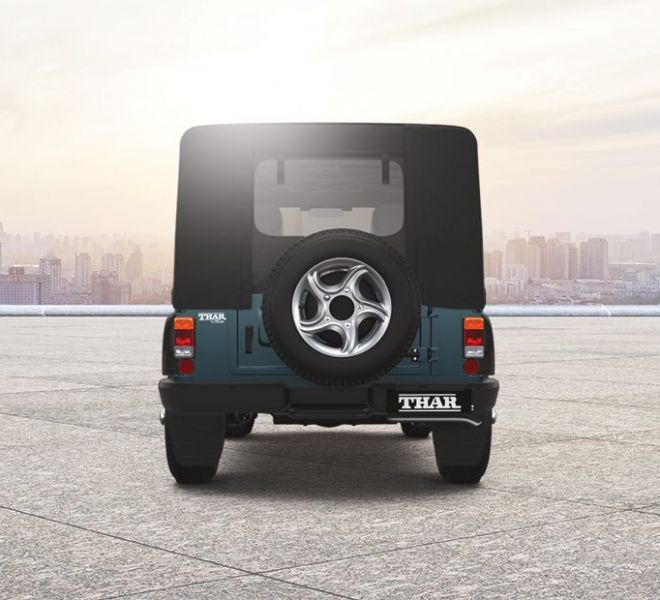 Automotive Mahindra Thar Exterior-4
