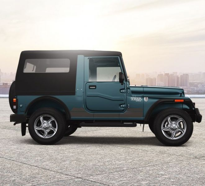 Automotive Mahindra Thar Exterior-5