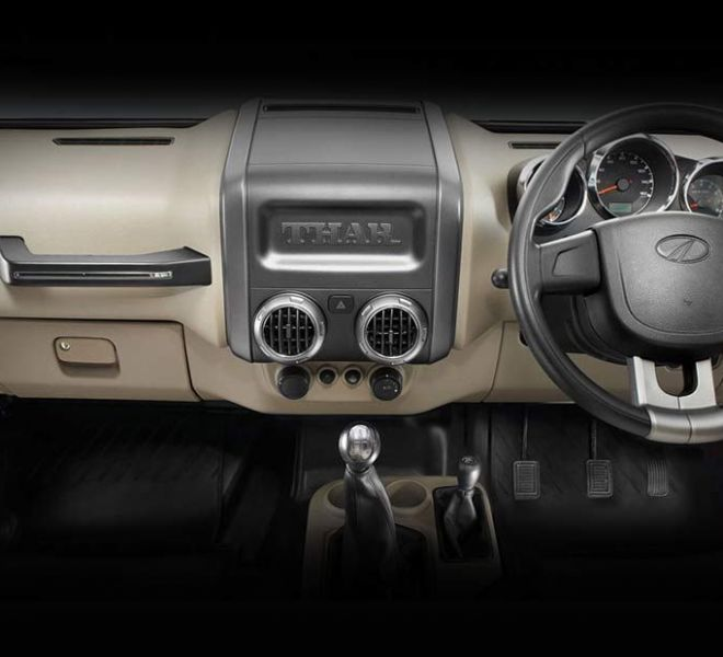 Automotive Mahindra Thar Interior-2